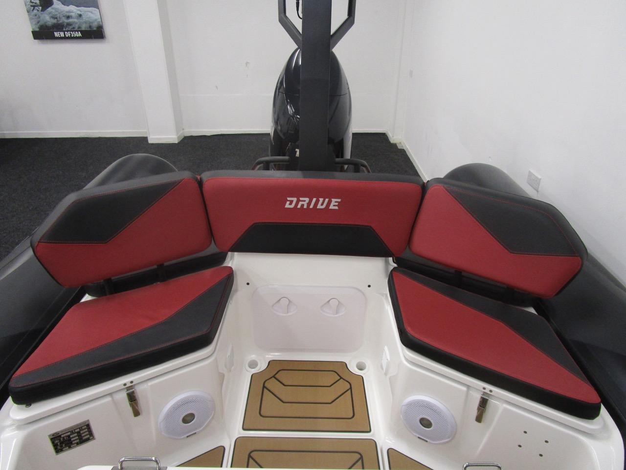 GRAND DRIVE D600 RIB rear seat no infill