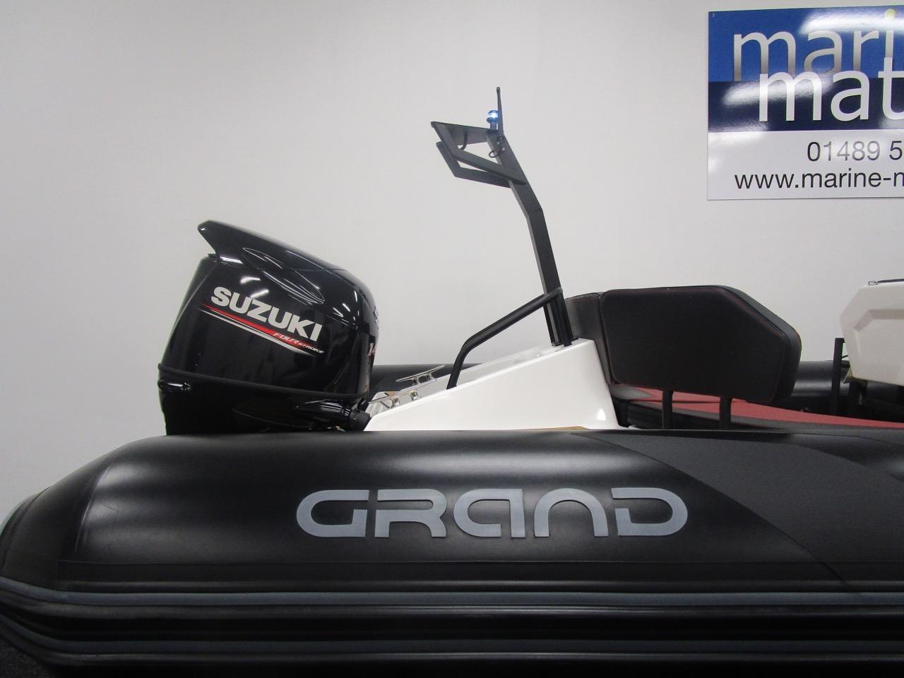 GRAND DRIVE D600 RIB rear section