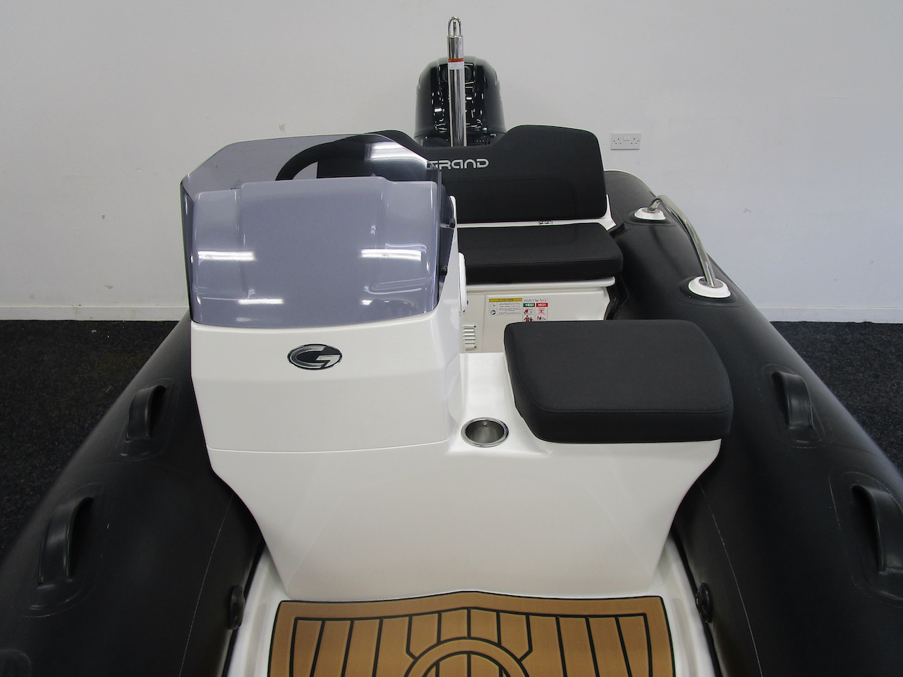 G340N Console front and side seat