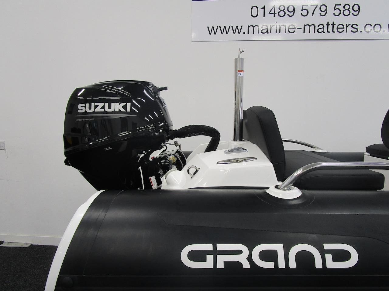 GRAND Tube and Suzuki DF30ATL engine