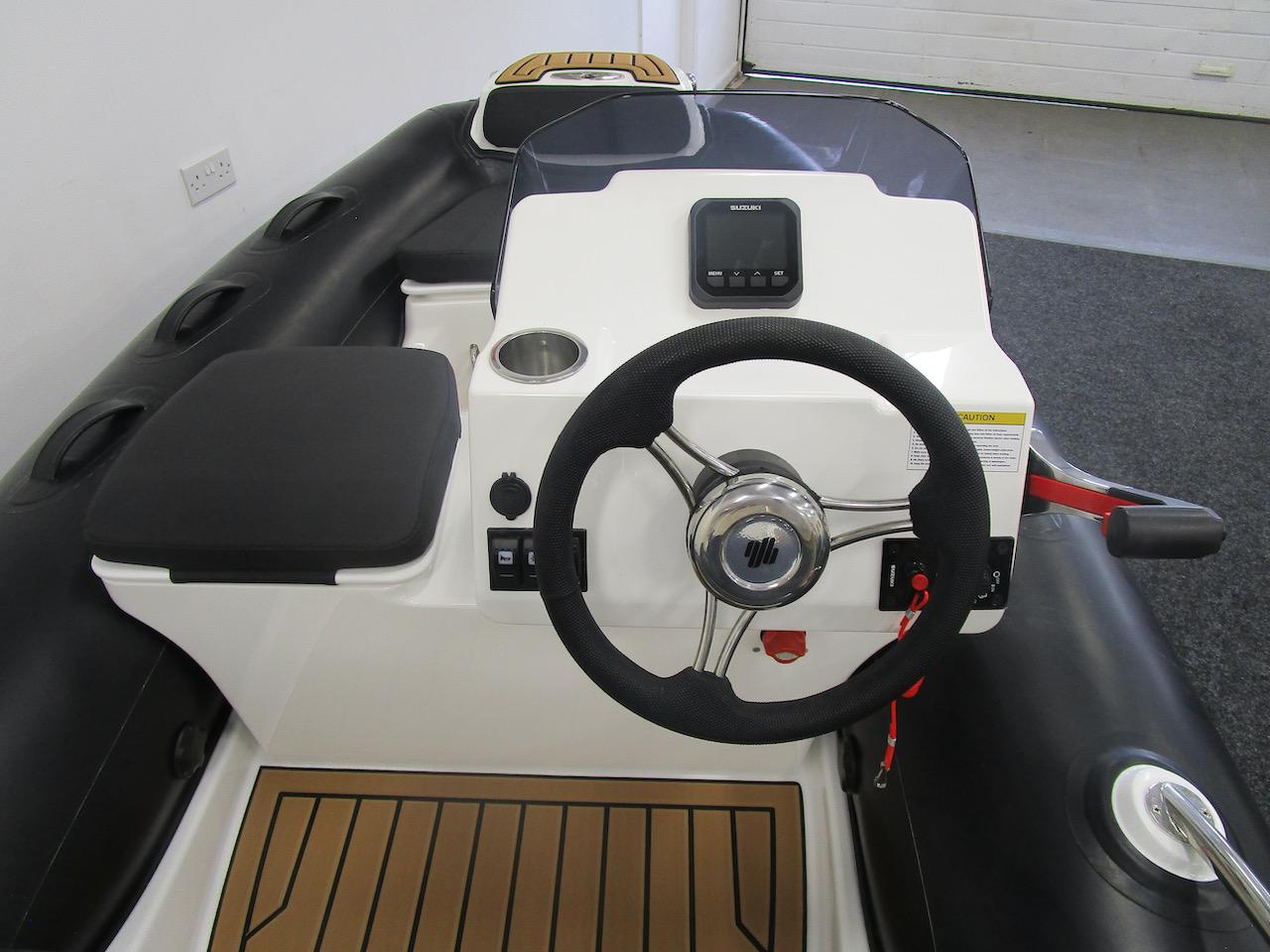 G340N behind the wheel