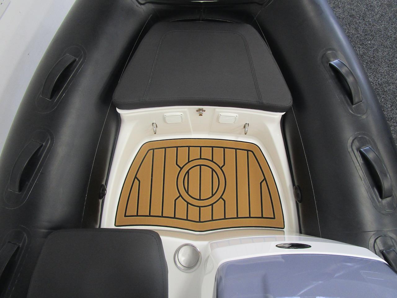 G340N bow section and Seadek floor