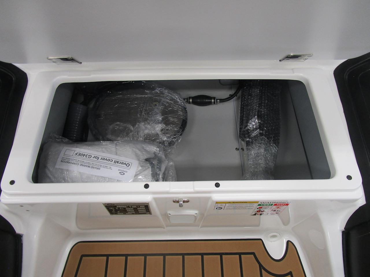 G340N huge under seat storage
