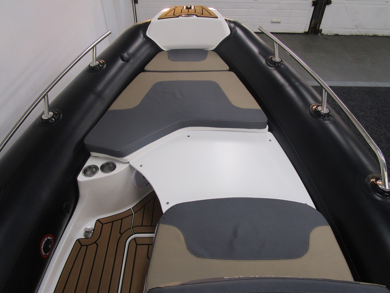 GRAND G500 RIB sundeck fitted