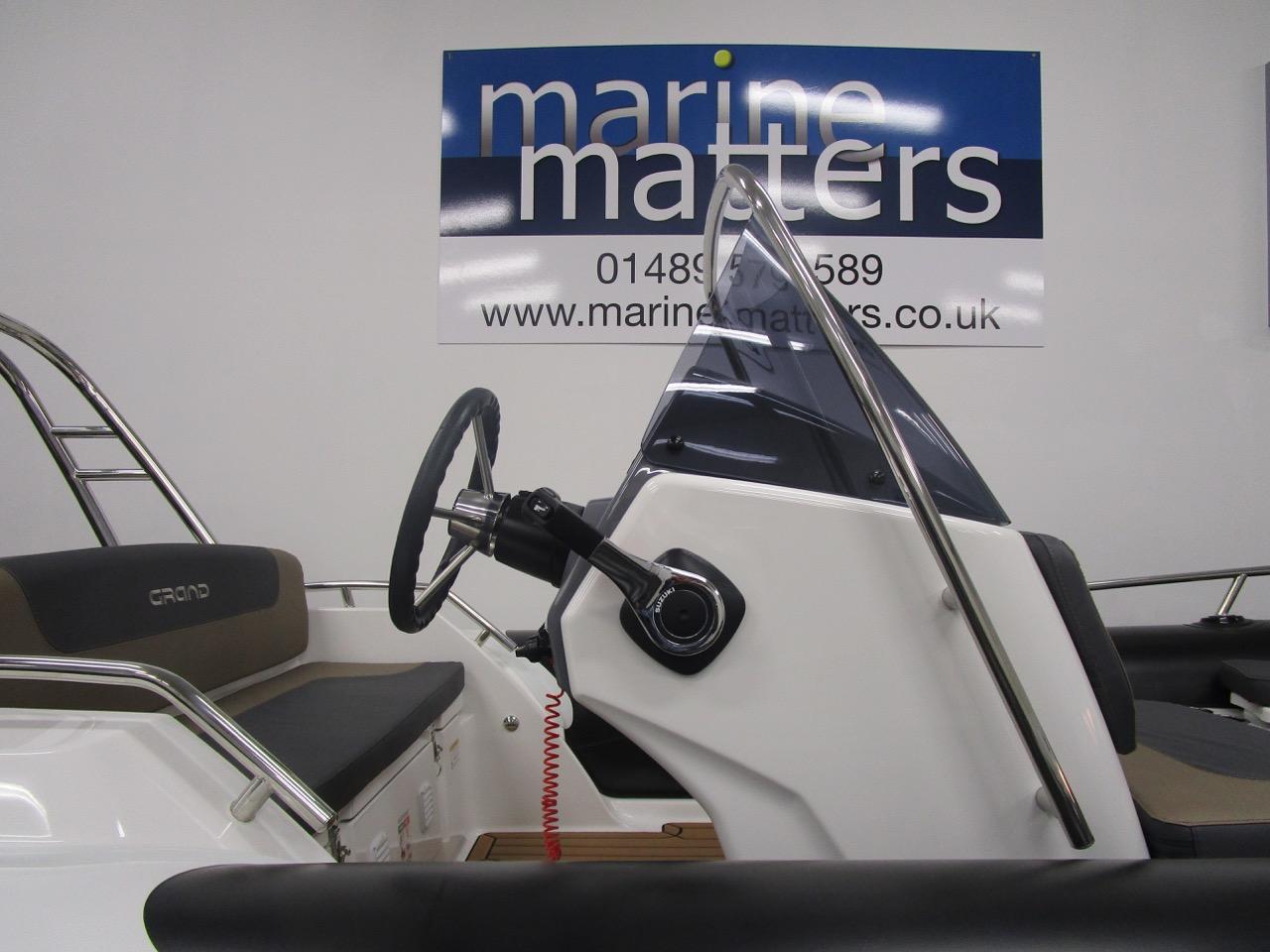 GRAND G500 RIB steering console
