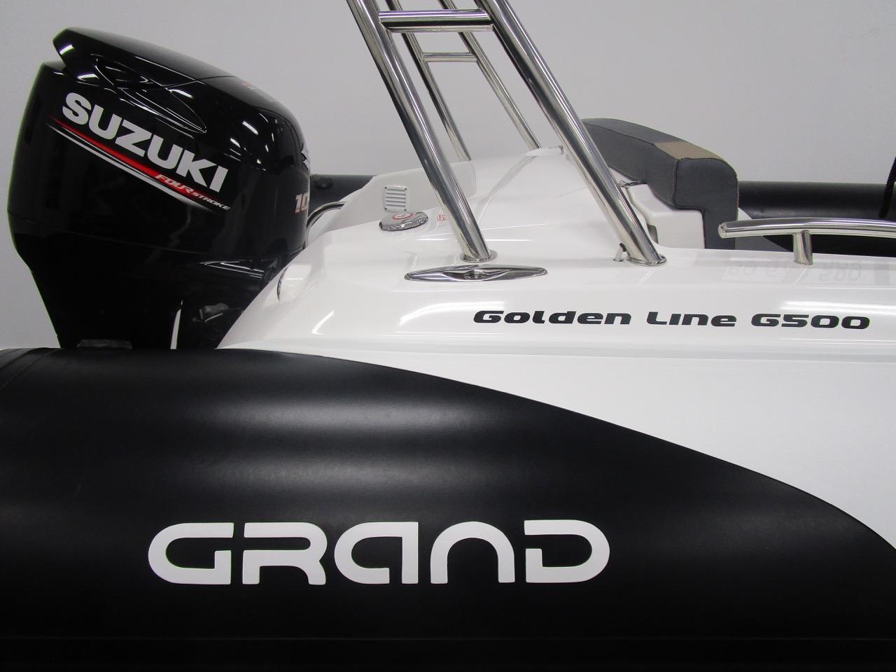 GRAND G500 RIB & Suzuki DF100BTL outboard