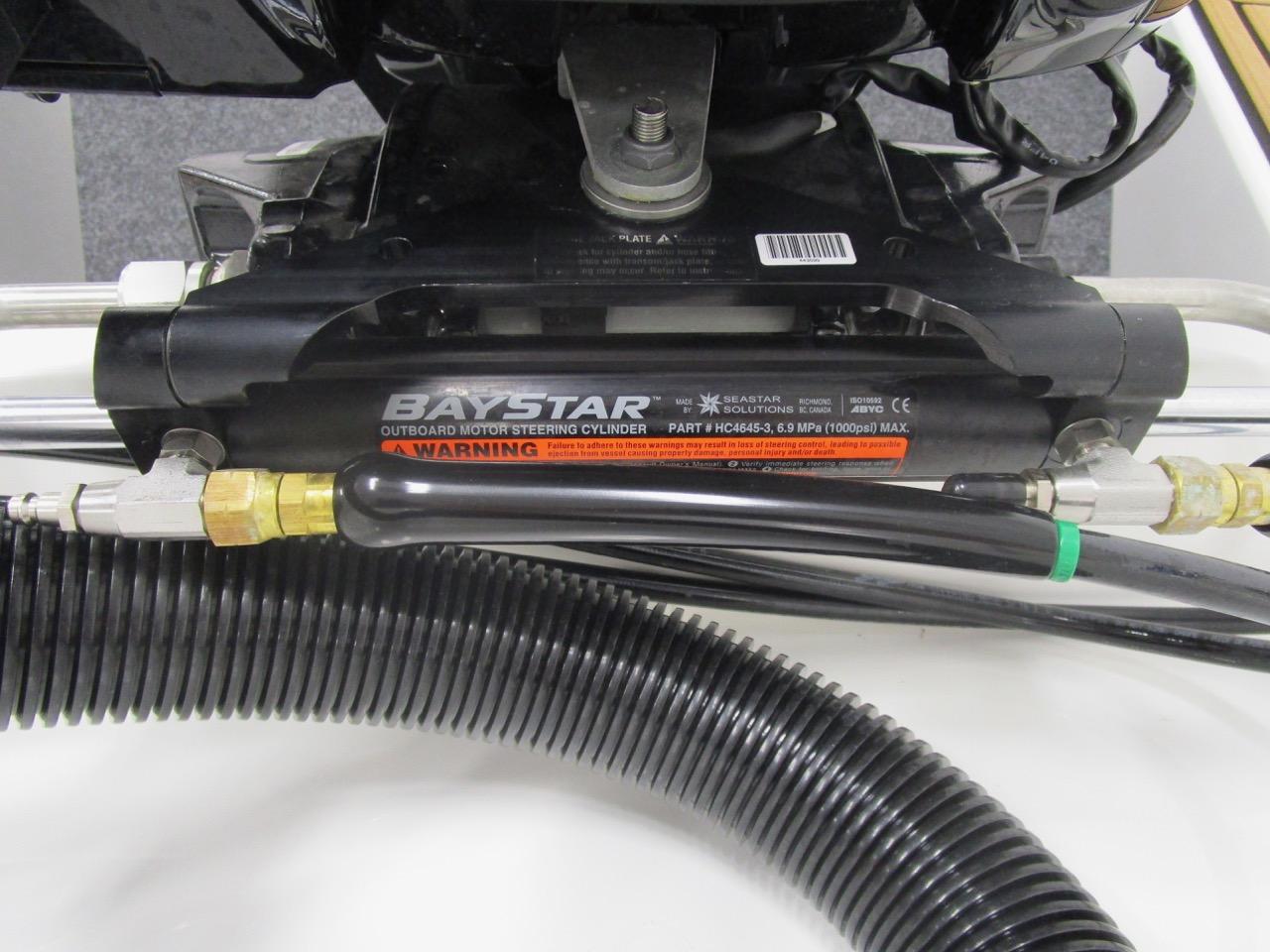 GRAND G500 RIB hydraulic steering
