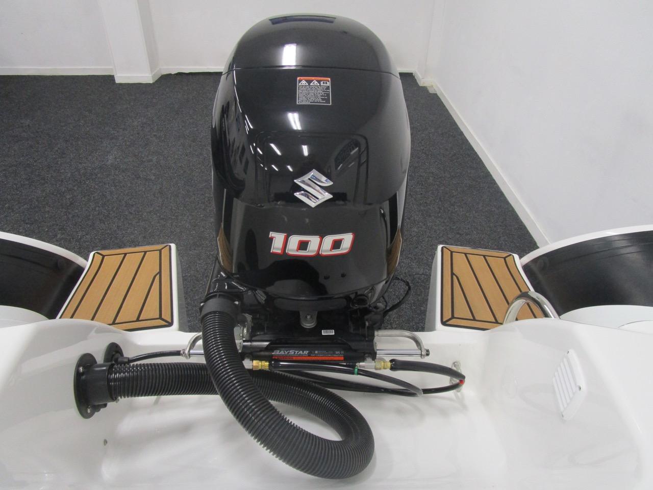 GRAND G500 RIB Suzuki DF100BTL outboard