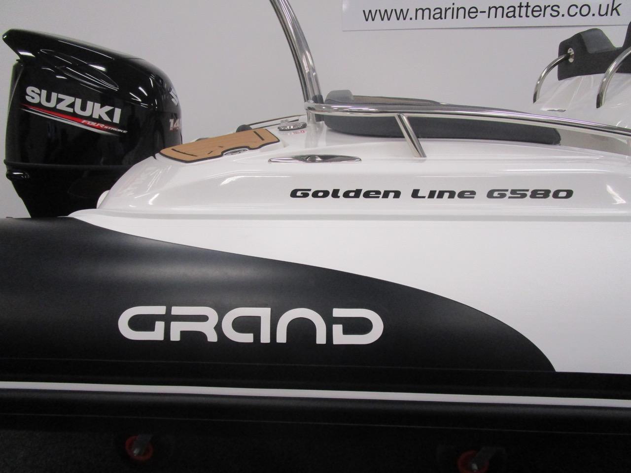 GRAND Golden Line G580 RIB logo
