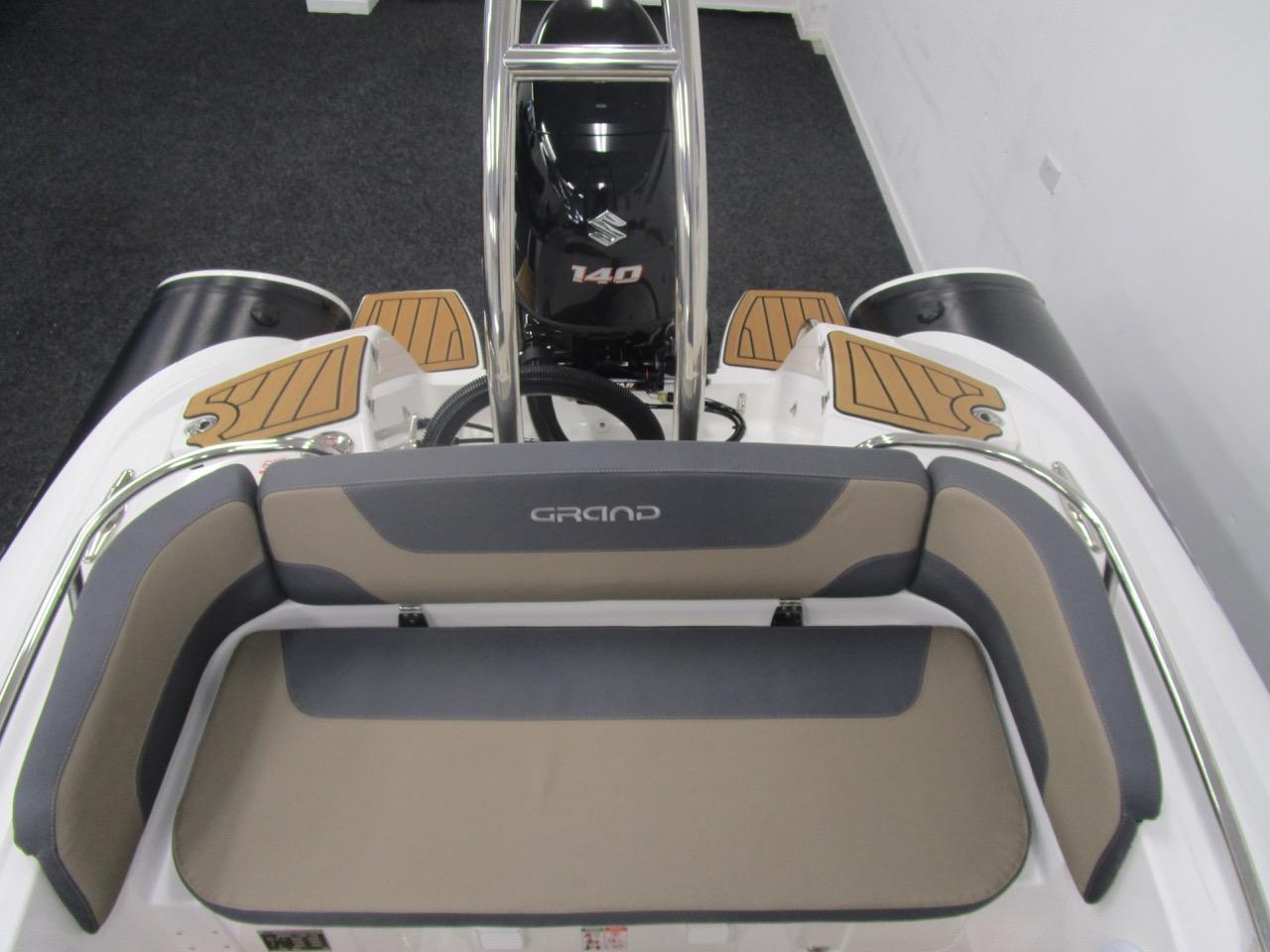GRAND Golden Line G580 RIB rear seat