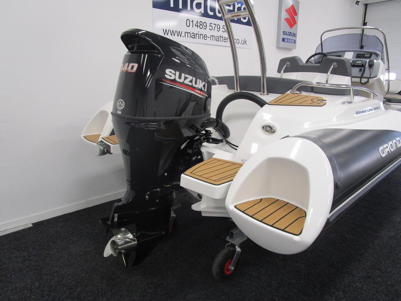 Suzuki DF140ATL outboard engine