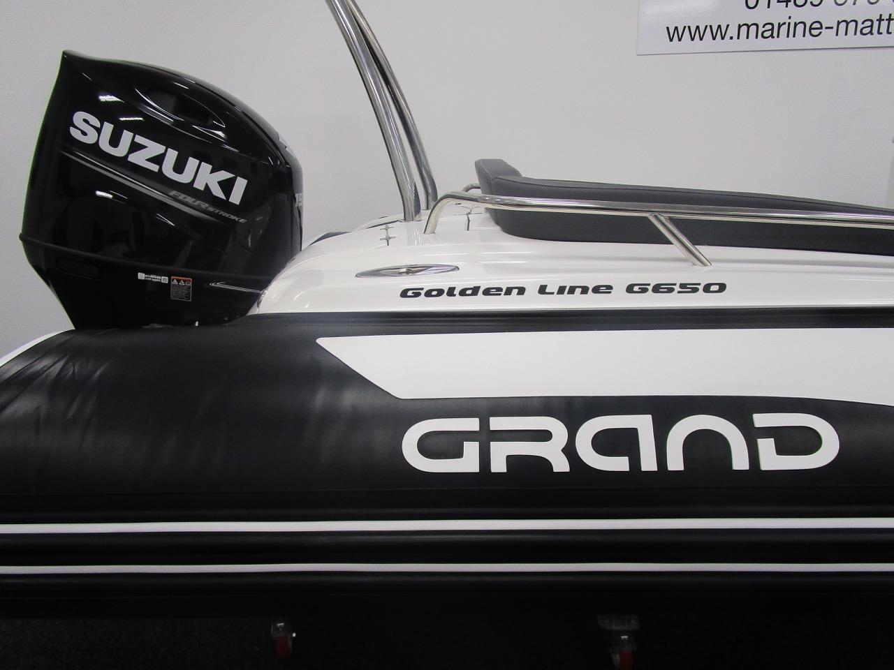 Grand RIB Golden Line G650 decals