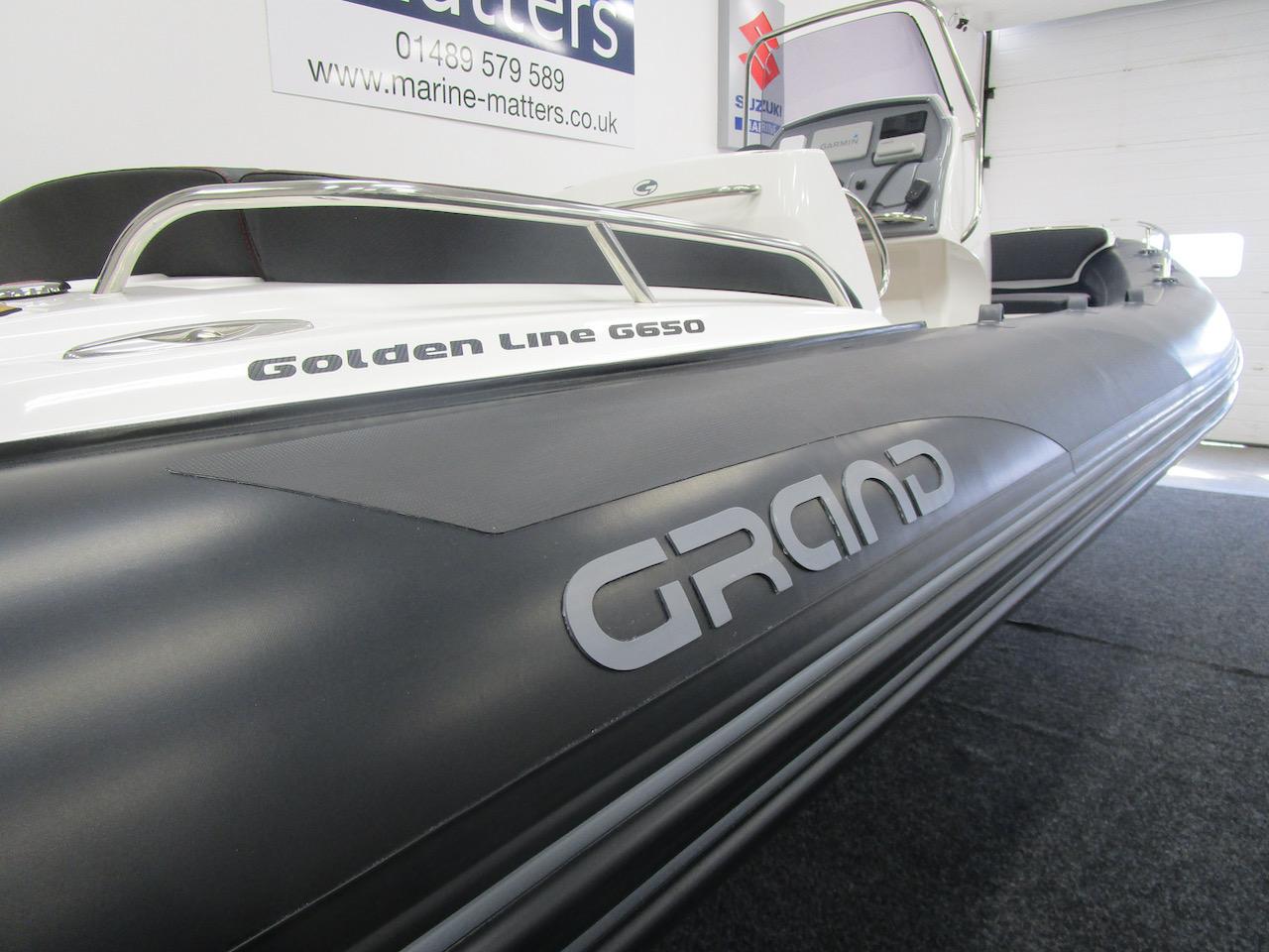 Grand RIB Golden Line G650 55cm diameter tube