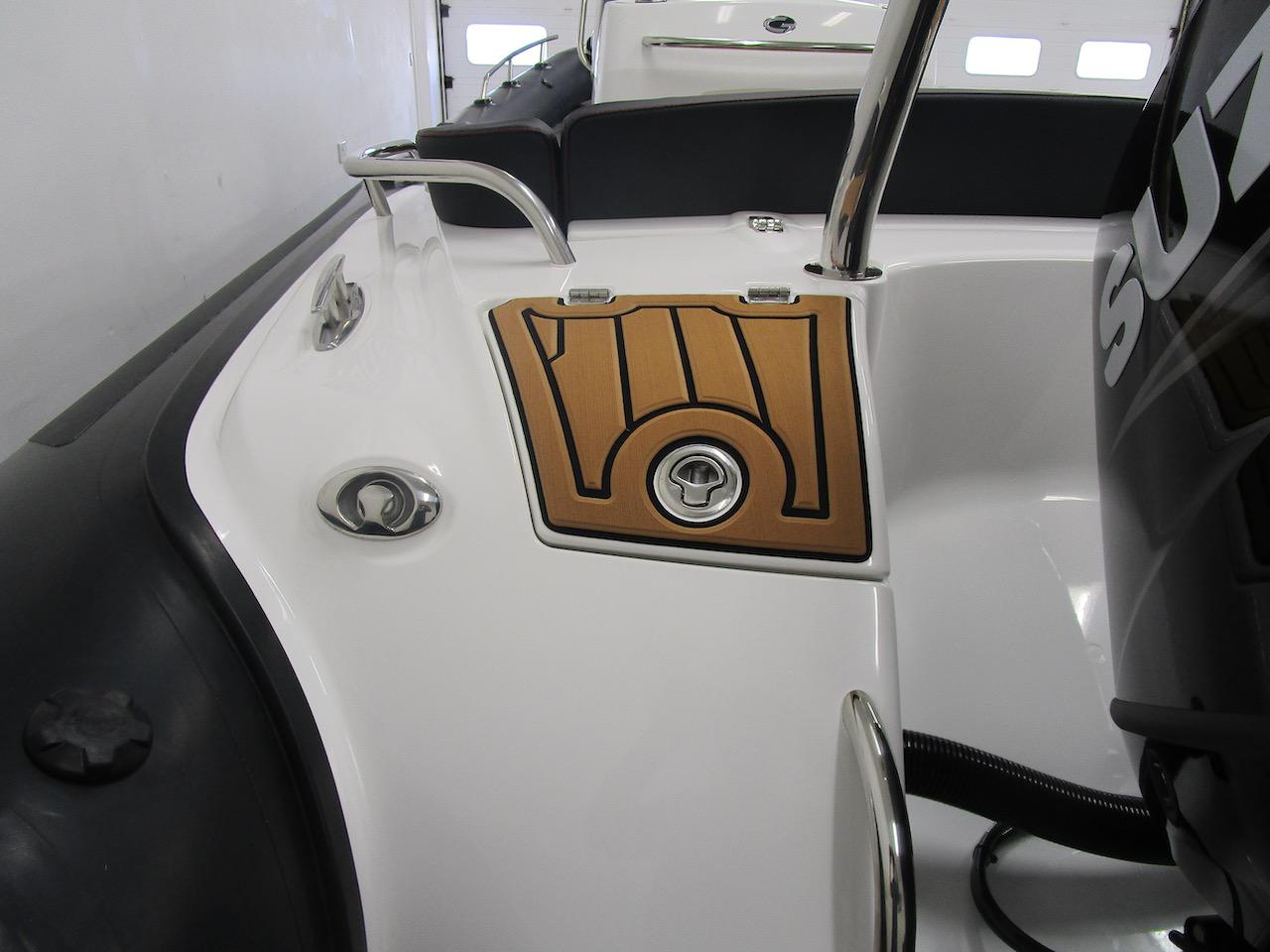 G650 rear line locker closed
