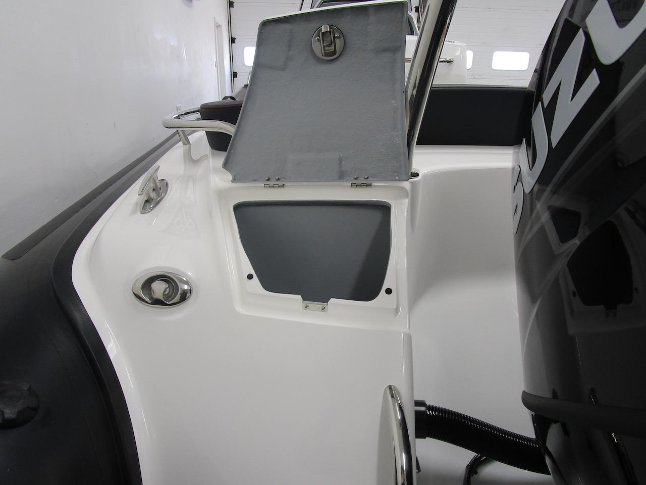 G650 rear line locker open