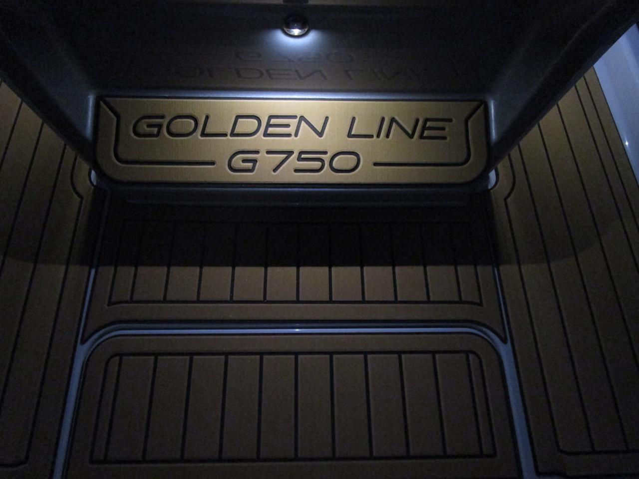GRAND G750 RIB LED deck lights, helm position deck lights