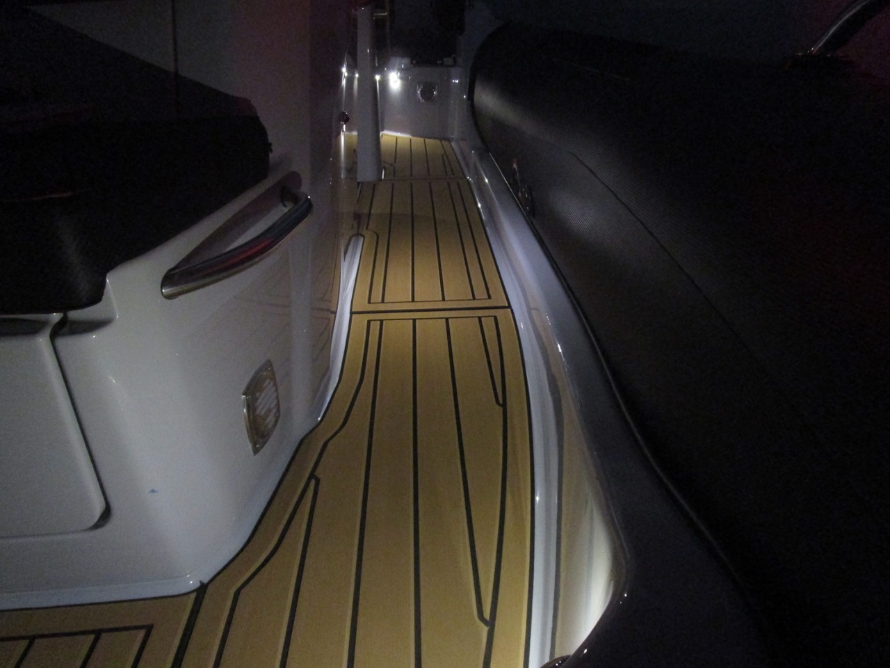 GRAND G750 RIB LED deck lights, port side deck
