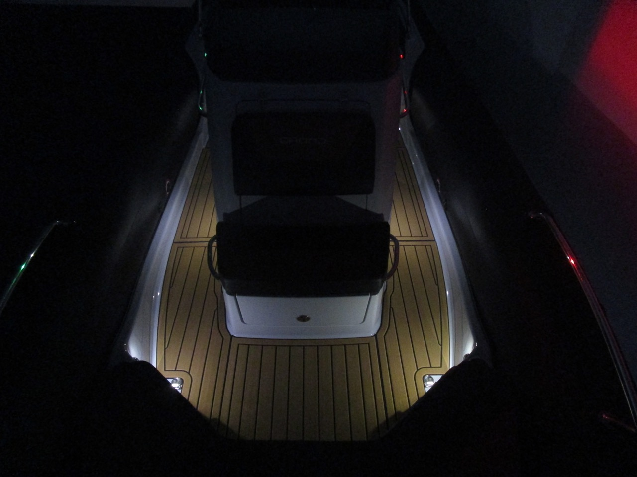 GRAND G750 RIB LED deck lights, bow