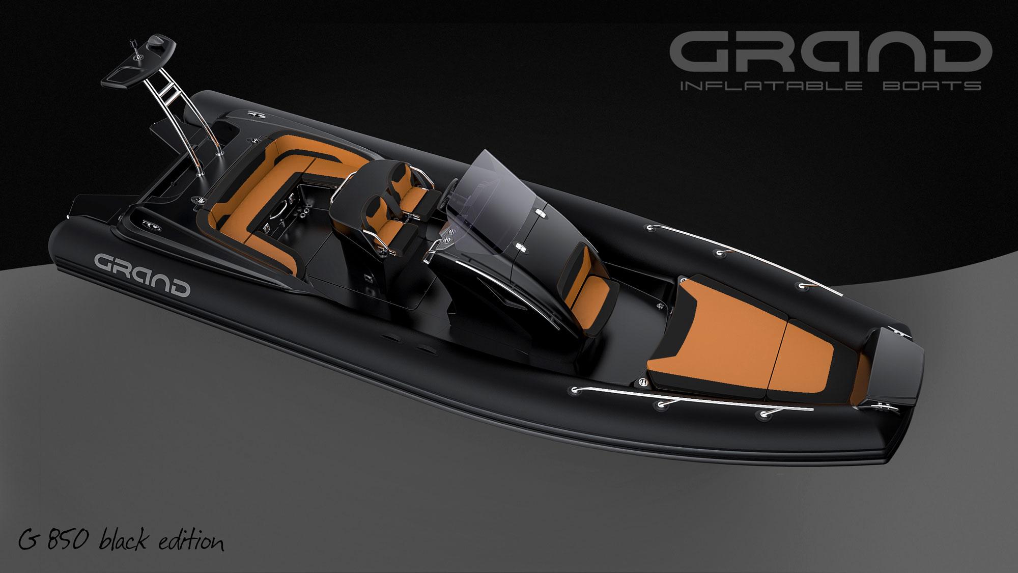 Grand 850 RIB Black Edition