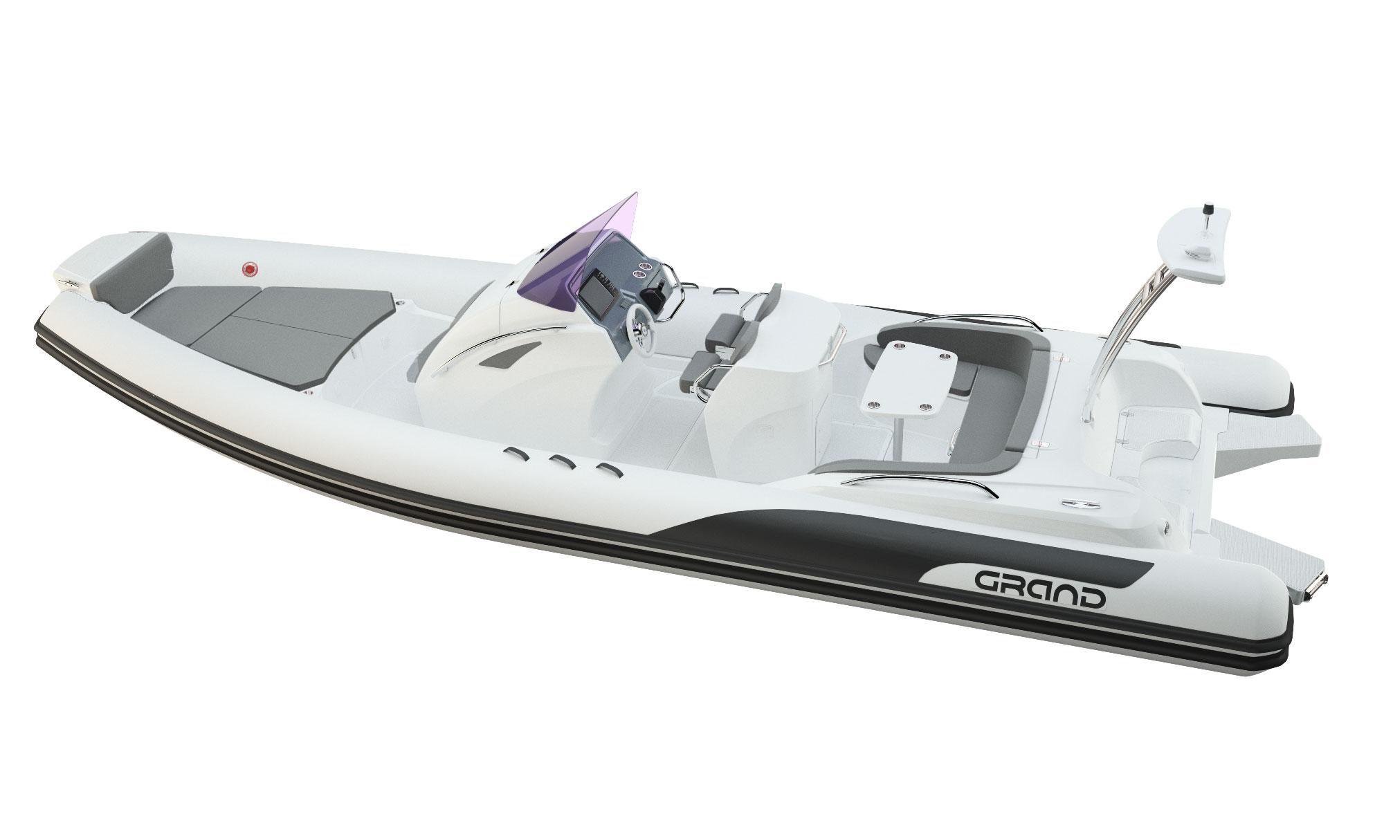 Grand 850 RIB White Edition