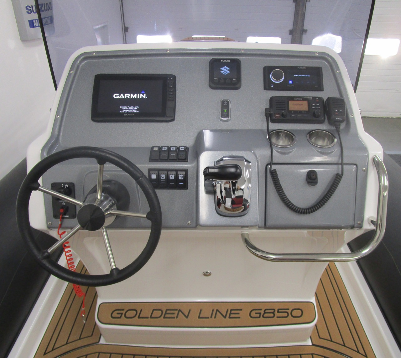 GRAND G850 RIB console instrument covers on