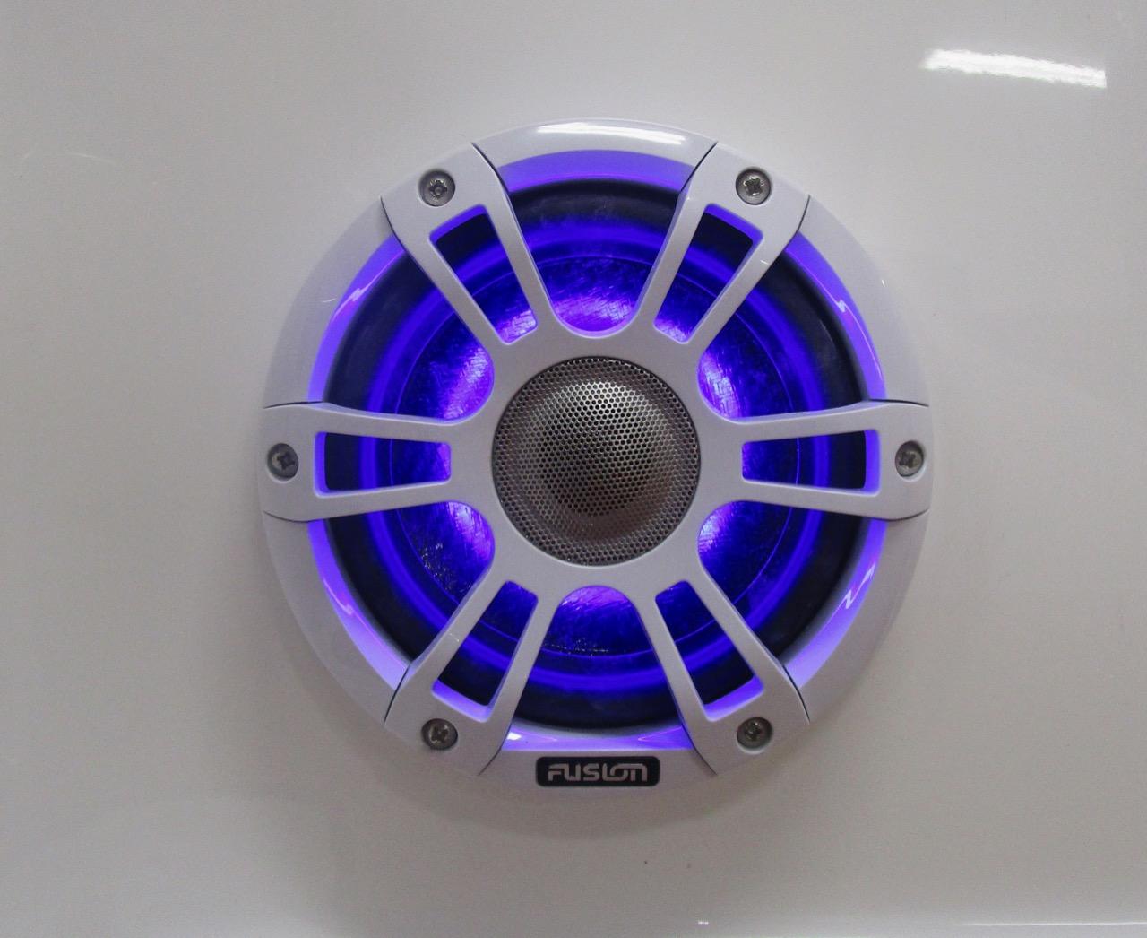 GRAND G850 RIB  one of four Fusion Signature speakers