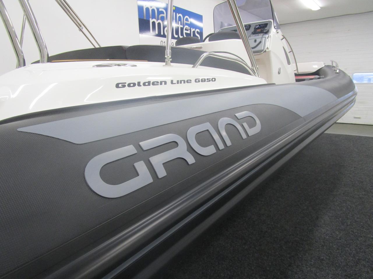 GRAND G850 RIB starboard tube