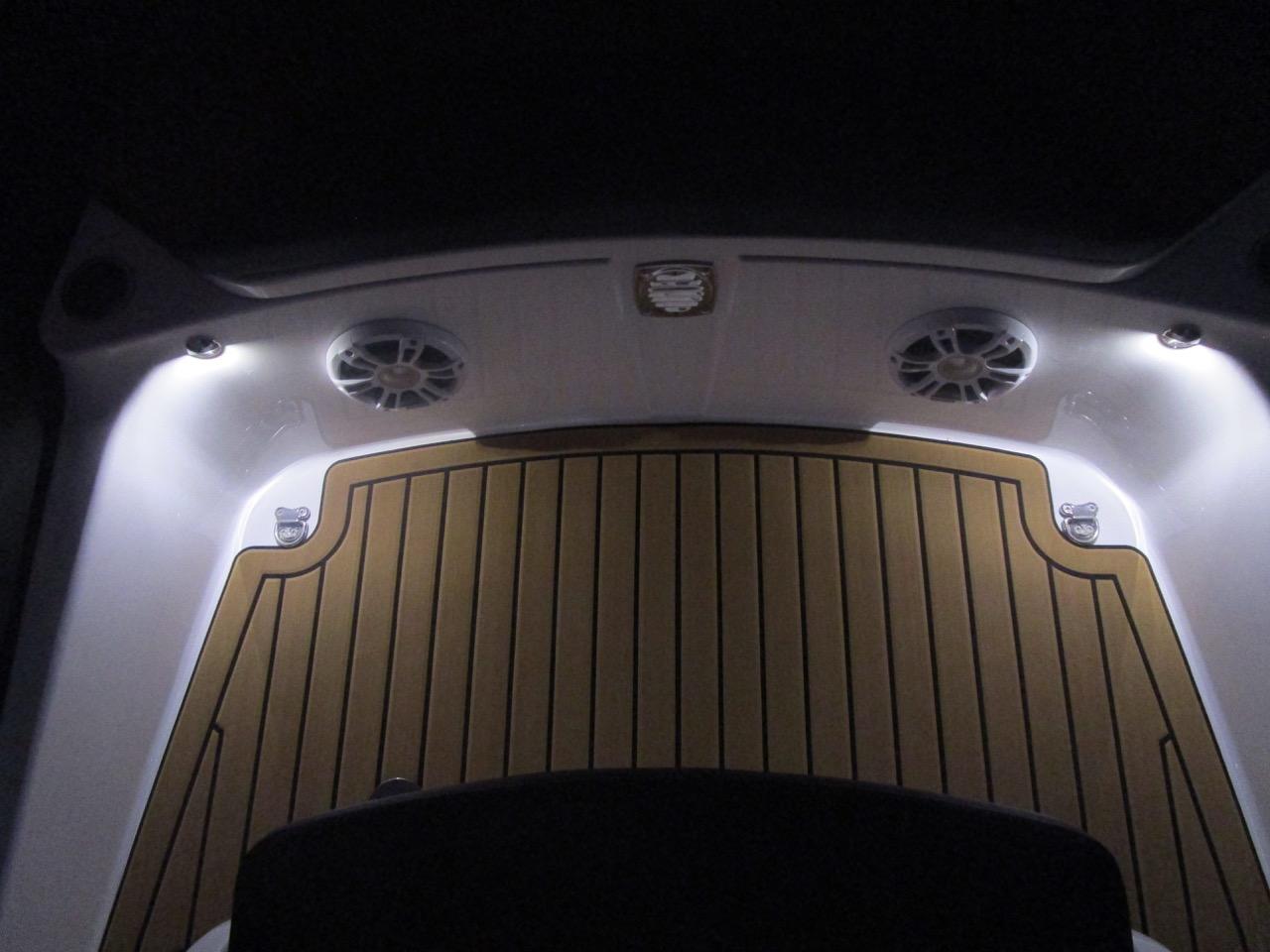 GRAND G850 RIB LED deck lights, bow