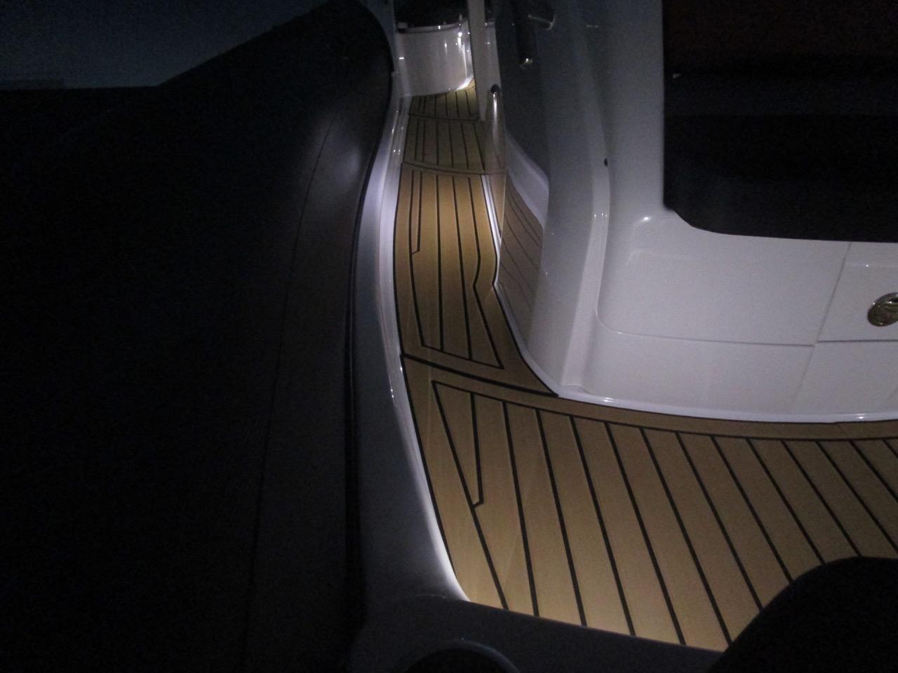 GRAND G850 RIB LED deck lights, stbd side decks