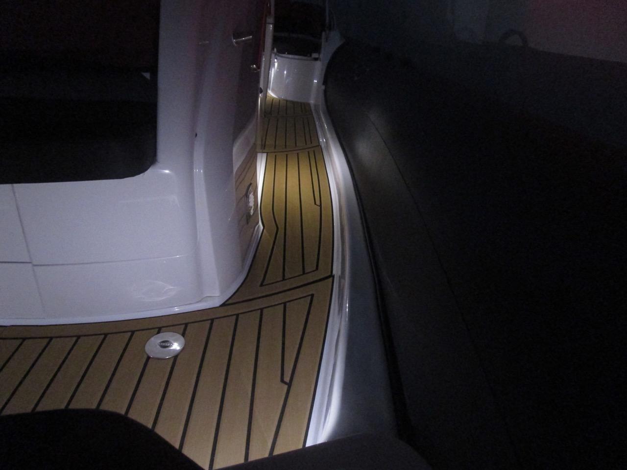GRAND G850 RIB LED deck lights, port side deck