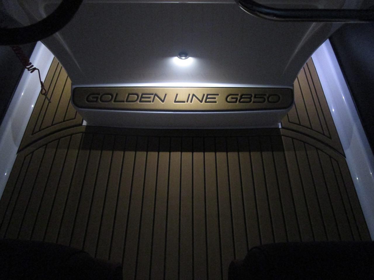 GRAND G850 RIB LED deck lights, helm