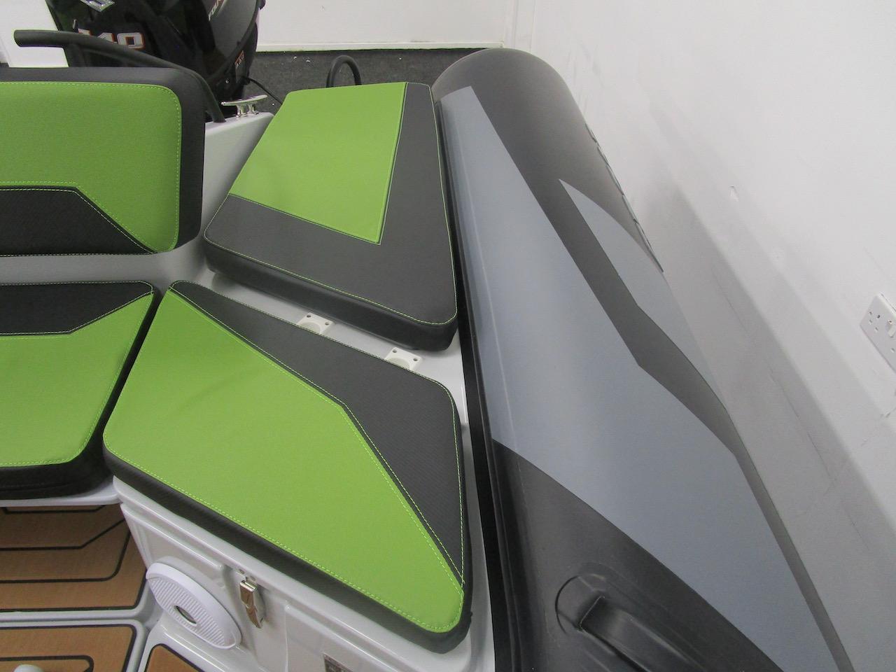 GRAND DRIVE D600 RIB rear seat with infill no cushions