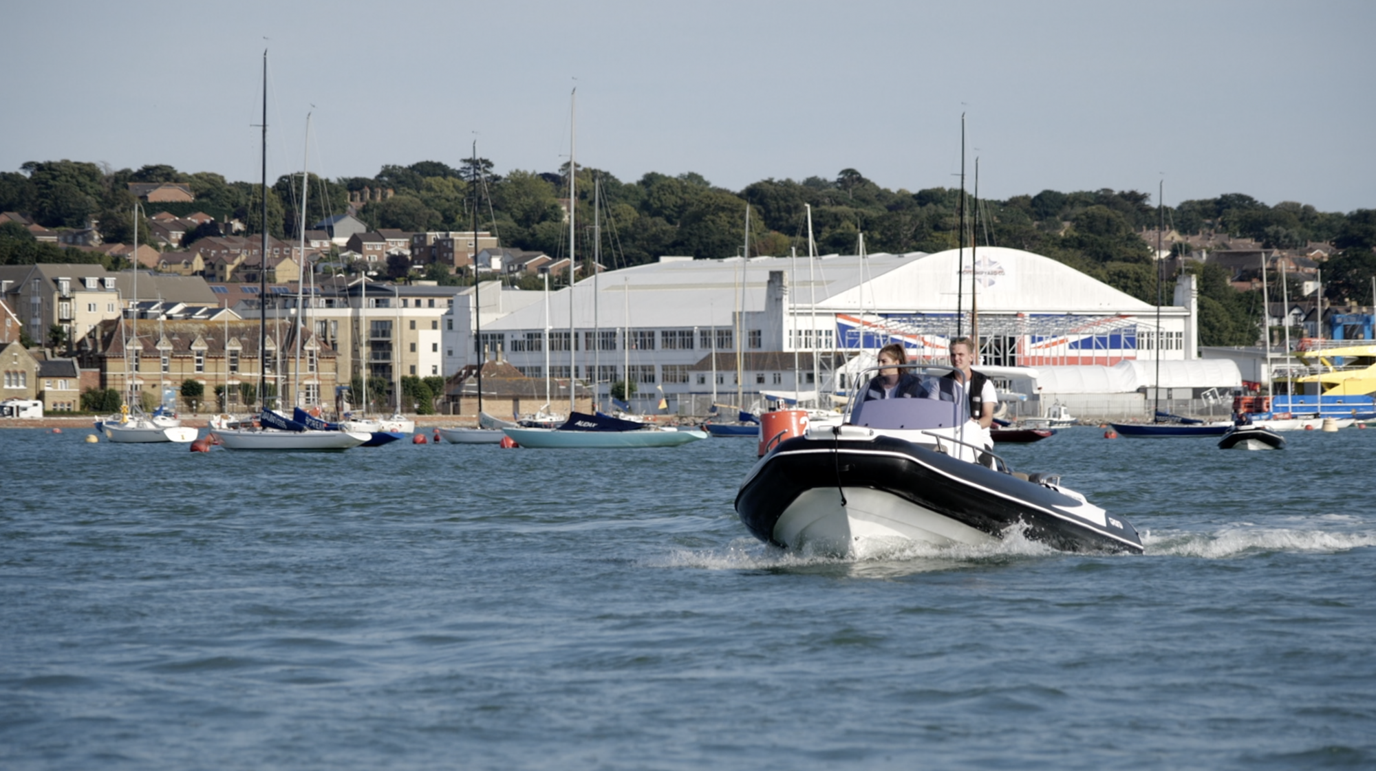 GRAND RIB on Hamble