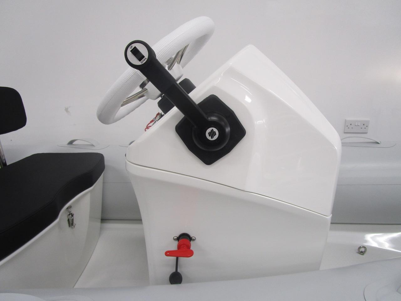 GRAND S300 RIB flush mount throttle control