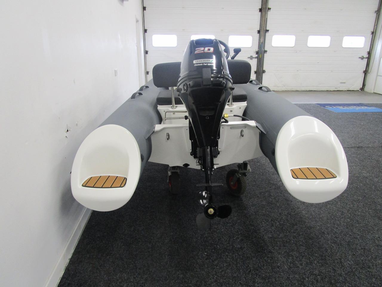 GRAND S300 RIB rear view