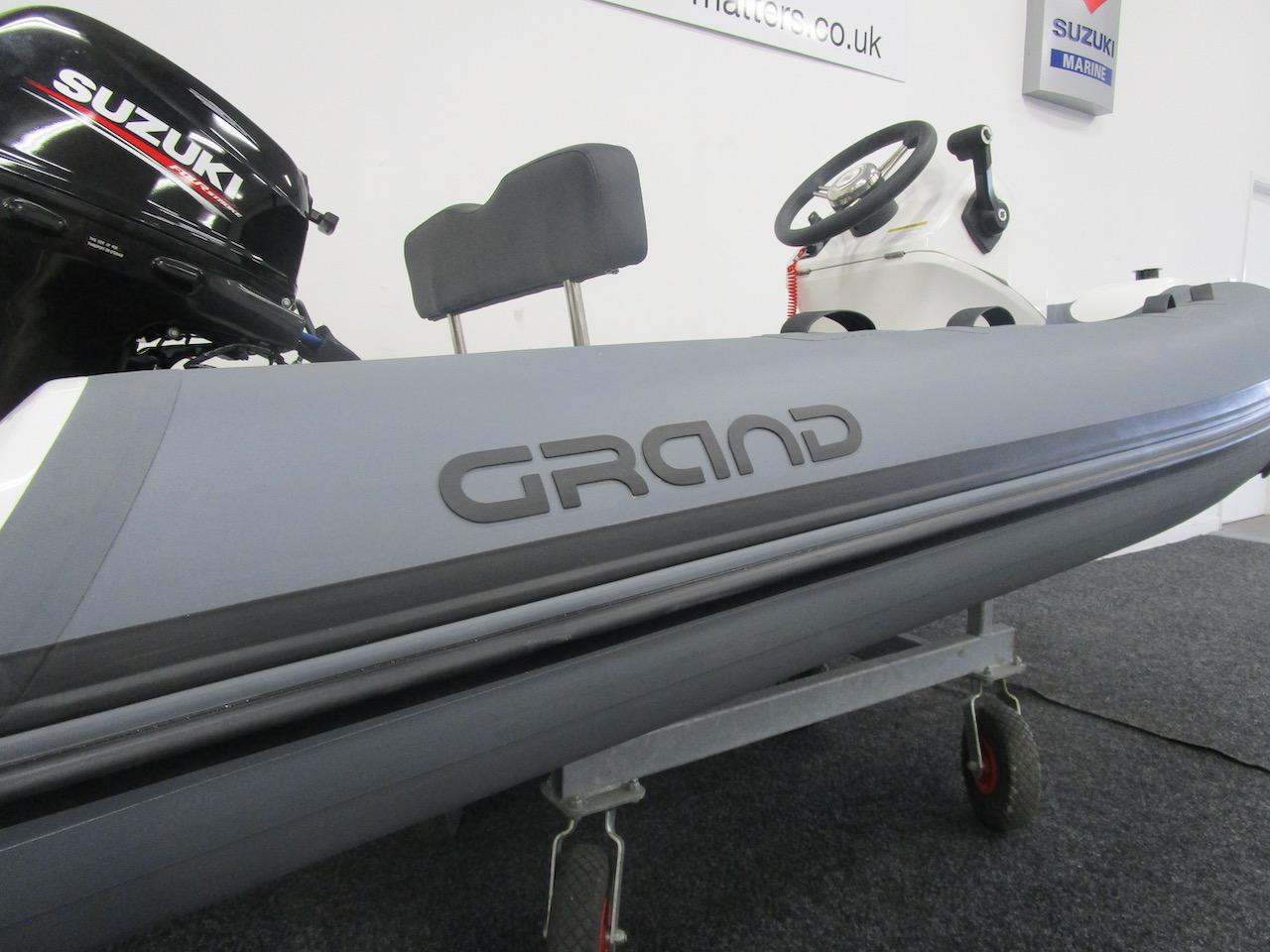 GRAND S330 RIB tender tube
