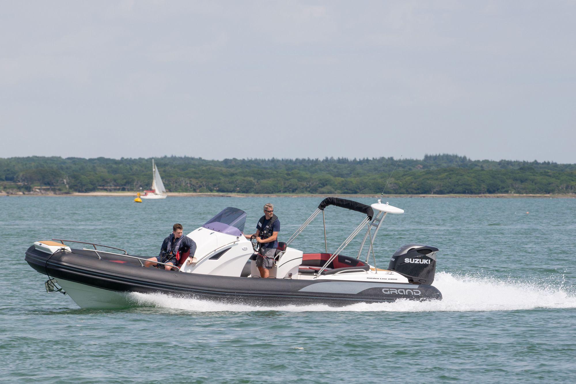 GRAND G850 RIB in The Solent