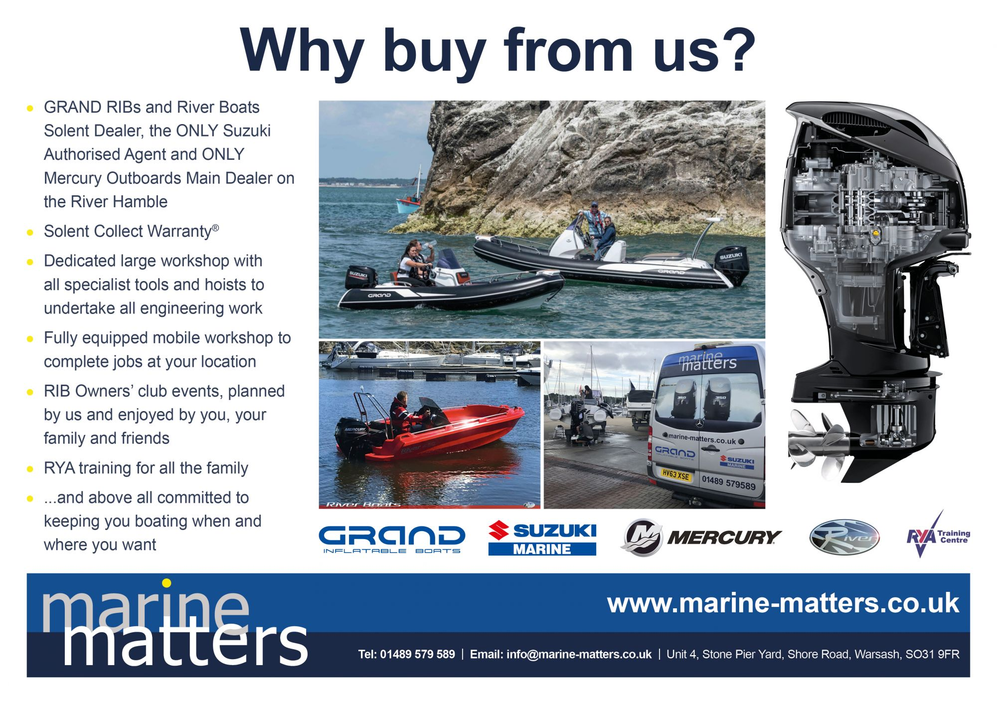 Why Buy From Marine Matters