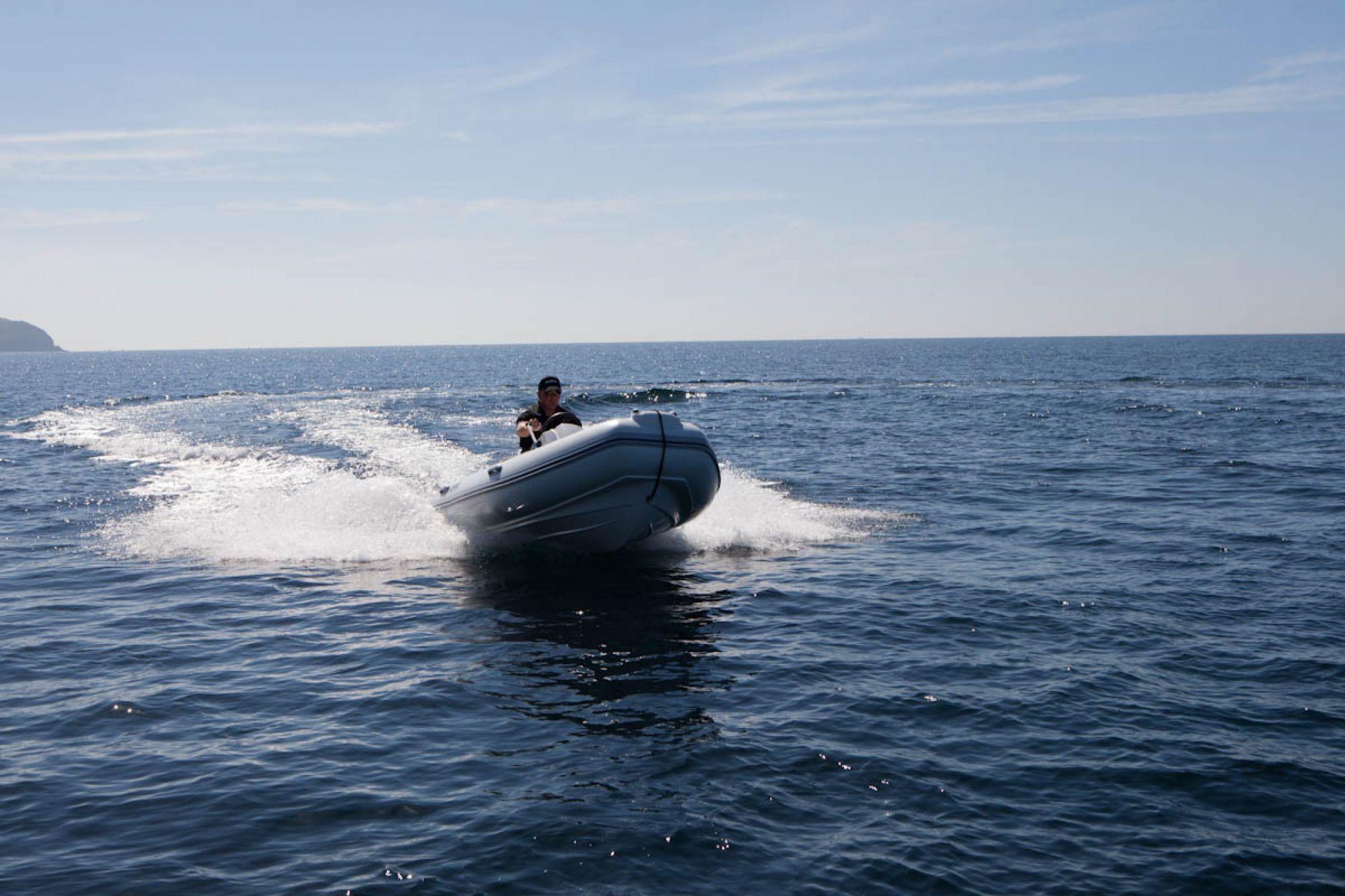 BRIG E380 at sea