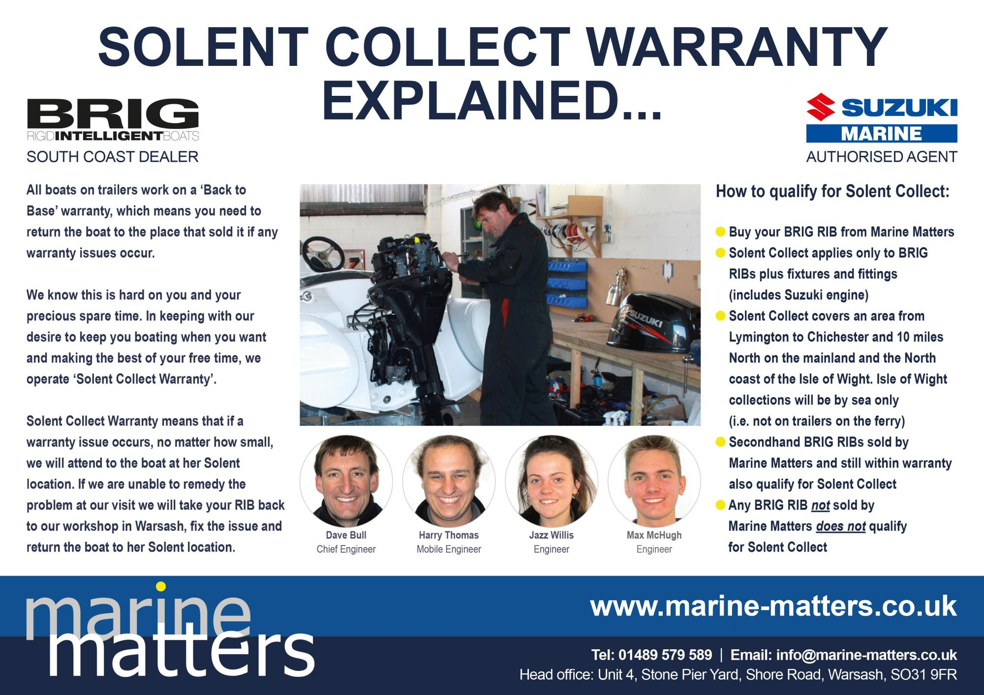 Solent Collect Warranty Explained