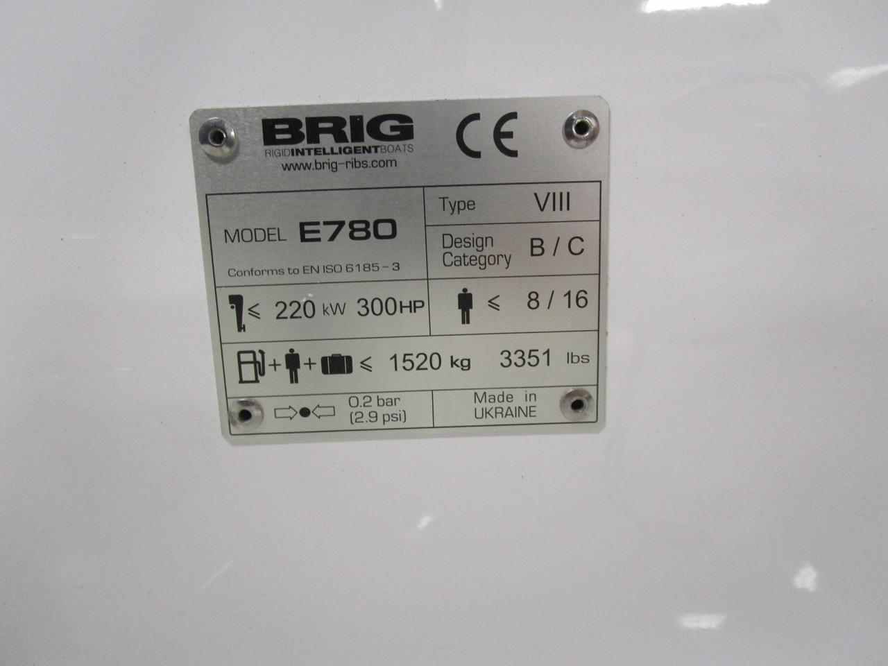 BRIG Eagle 780 CE plate