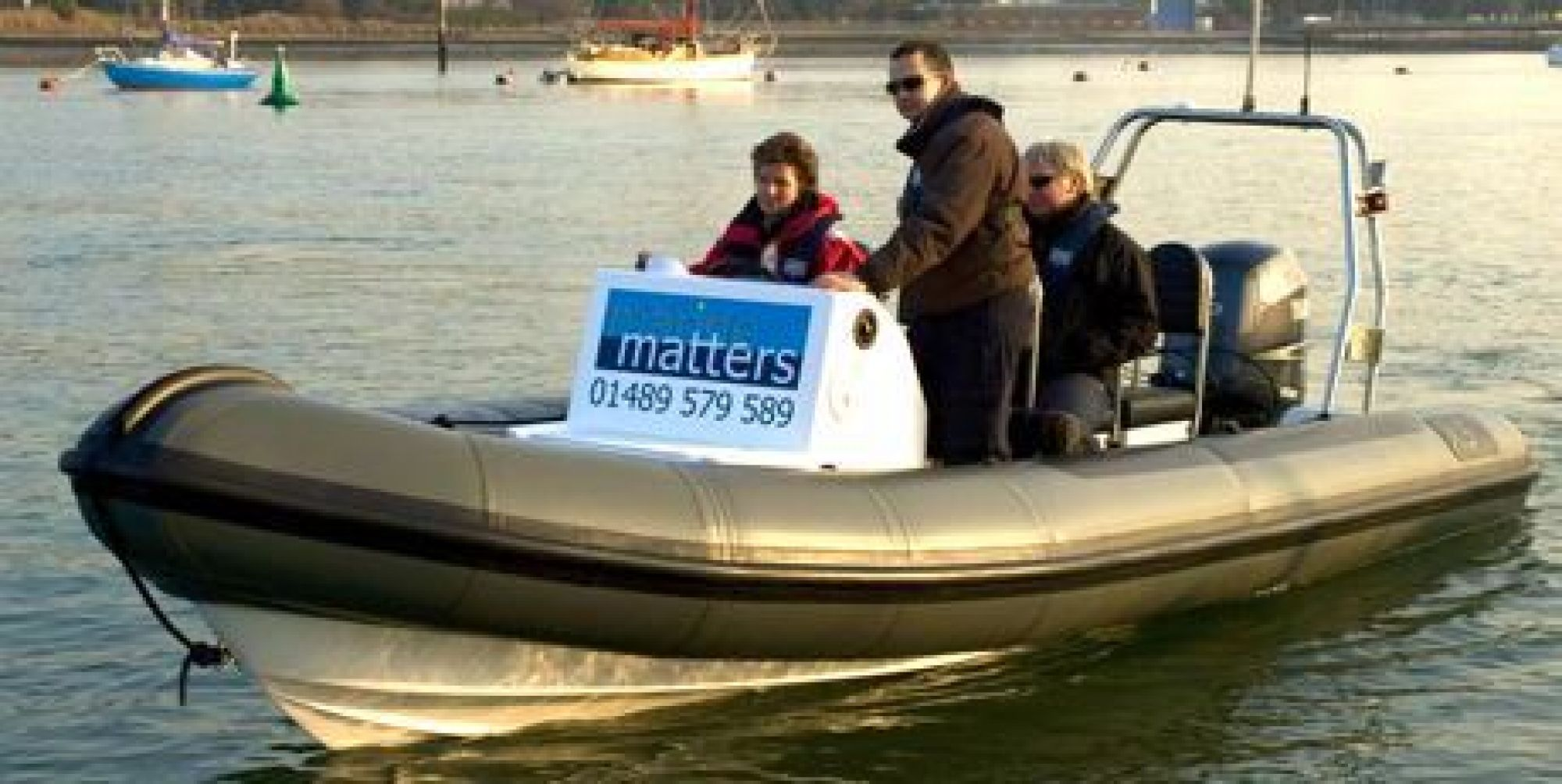 Intermediate Powerboat training