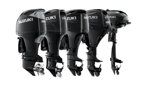 Suzuki Outboard Range
