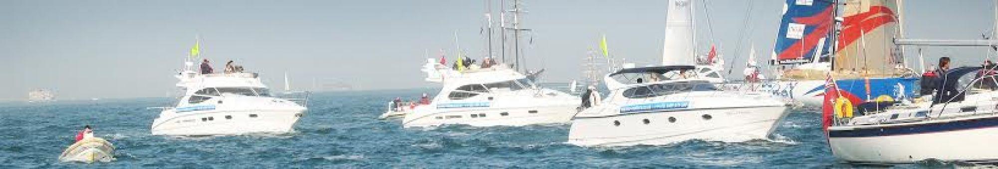 Fleet of Marine Matters charter vessels