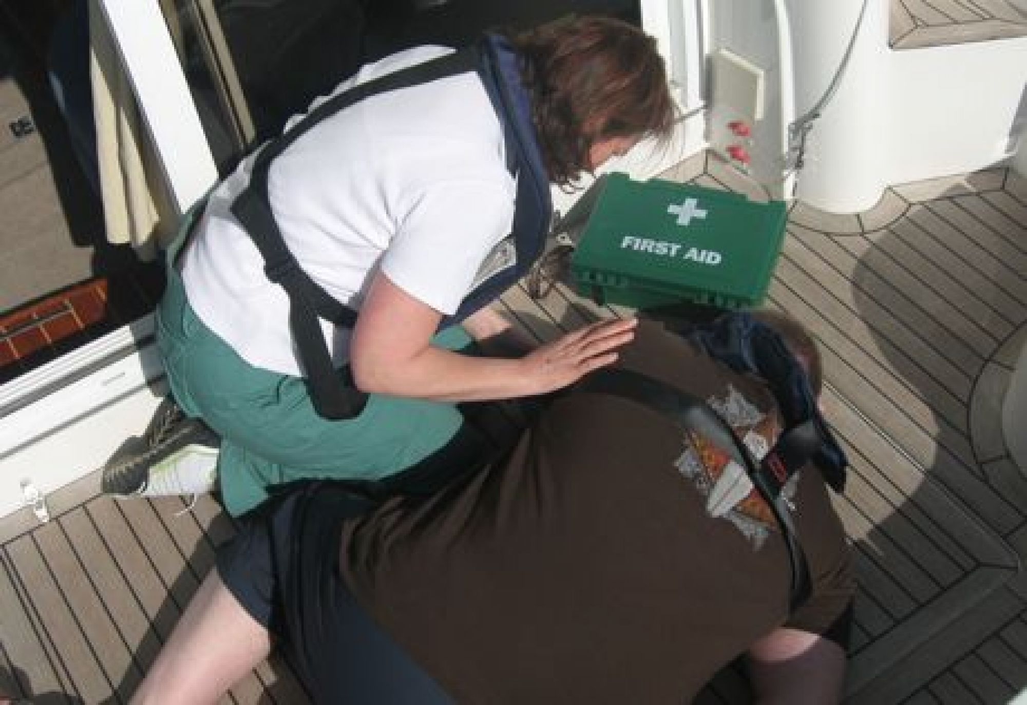 First Aid Training Onboard