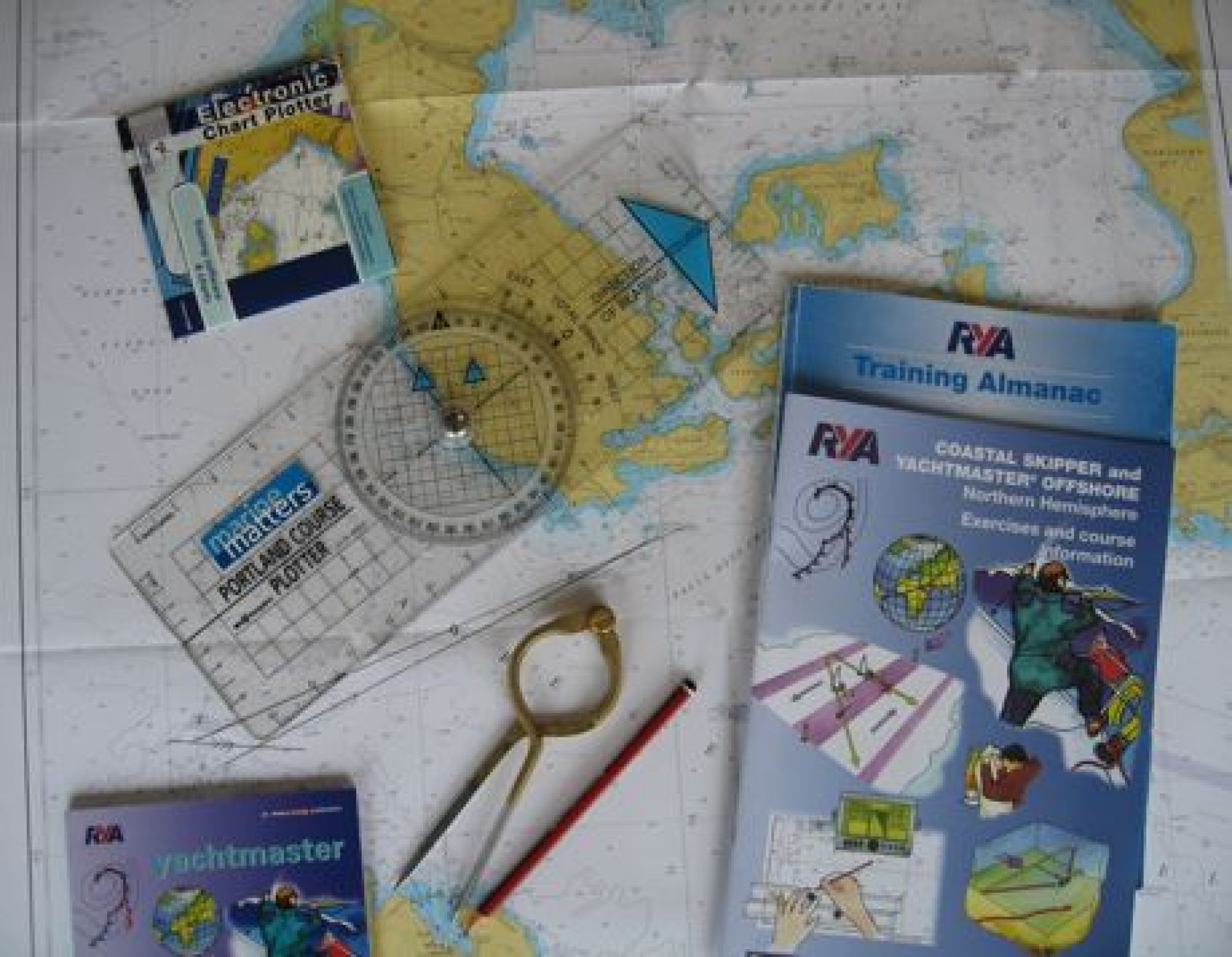 RYA Yachtmaster shorebased theory training course pack